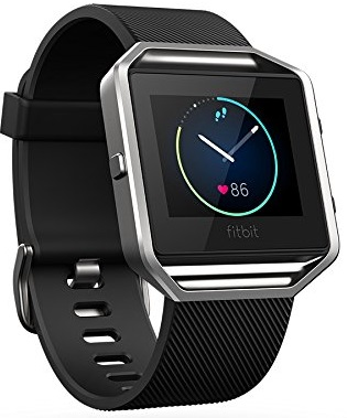 Fitbit Blaze Smart Fitness Watch, Black, Silver, Large (US Version) Featured